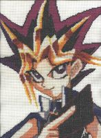 Cross Stitch Yugi by Jazzcat-27