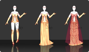 02 | Outfit Design Adopt - [CLOSED] by Llamarsio