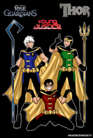 Jack, Dick and Loki by mikaeriksenweiseth