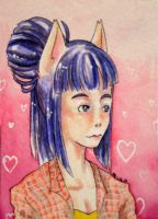 ACEO- Dayne by ScribbleBees