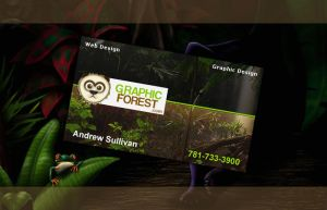 First EVER Business Card by Andrew-23