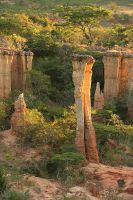 Fairy chimney in Africa by PyreneesBear
