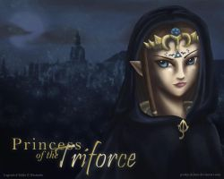 Princess of the Triforce by Pooky-di-Bear
