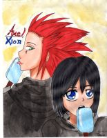 Axel and Xion by Ayaka432