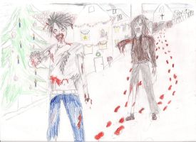 Zombies by Jaquina