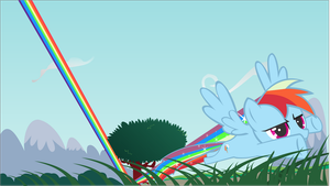 Sonic Rainboom by nerevars