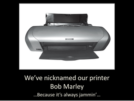 Our Printer by Van-helsa124