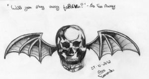 Deathbat a7x by 30SecondsToMyHell