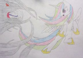 The protector hand drawn by konadh324