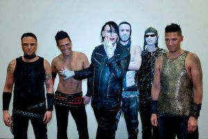 Rammstein and Marilyn Manson (Echo 2012) by Panikattacke