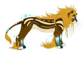 Auction Lion [CLOSED] by Gii-Adoptables