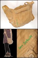 Recycling pants into bags by ALINAFMdotRO