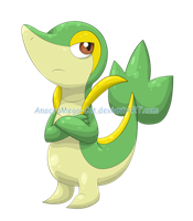 495- Snivy by Anocra