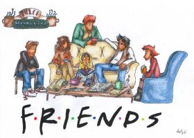 FRIENDS I'll be there for you by bagher