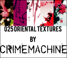 025 Oriental Textures by crimemachine