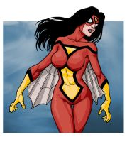 SpiderWoman by PORTELA