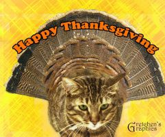 My Thanksgiving turcat by DigitalDoodleDesigns