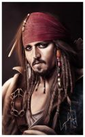 Captain Jack Sparrow by dannykojima