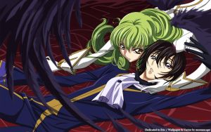 Code Geass _Lelouch and C.C by Myk-2103