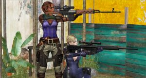 BSAA SNIPER-TEAM by blw7920