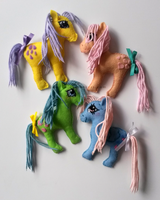 Pony Fridge Magnets by Emfen