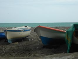 Boats On The Sand by manny1212