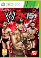 WWE 2K15 Fan made cover by ultimate-savage