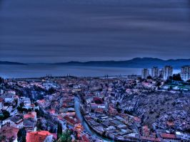 RIjeka by night by Vedran-V