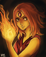 flame princess by mistix