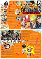One Piece Pamphlet Design by msfangfang