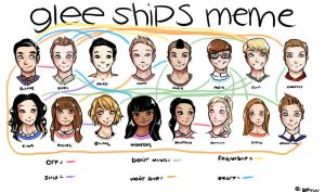 Glee Ships Meme by loves2die4