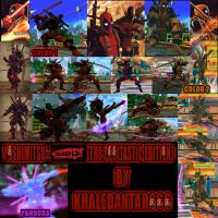 YOSHIMITSU - DEADPOOL (THE POOLTASTIC EDITION) by Khaledantar666
