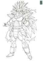 Kakarotto ssj3 U13 by bloodsplach