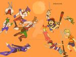 Smash brothers: StarFox vs Mother/Earthbound by SirBoulerHat