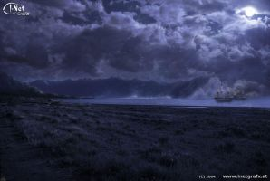 Mattepaint: Moonlight by inetgrafx
