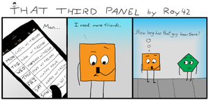 That Third Panel - More Friends #2 by Roy4242