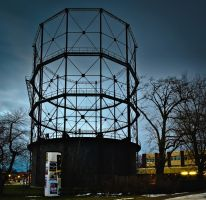 Itzehoe Old Gas Tower by sandor99