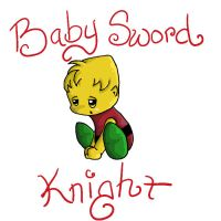 Baby Sword Knight by Avi-the-Avenger