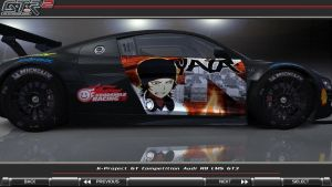 2013 K-Project Audi R8 LMS GT3 Itasha [Right] by FAT8893