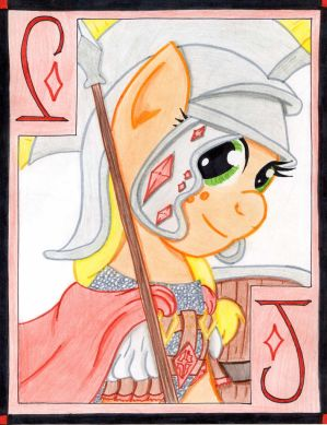 The Hardworking Jack of Diamonds: Applejack by The1King