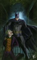 Batman - Arkham Asylum by Dark-thief