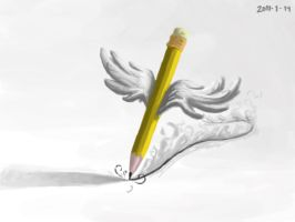 68 flying pencil by foice