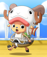 One Piece - Chopper, the mini Merry by SergiART
