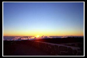 Sunset From Haleakala by Darth4114