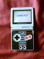 My Game Boy Advance SP by shnoogums5060