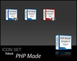 IconSet: PHP Made by Scoville-Cased