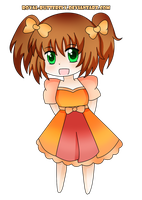 [Art Trade] Chocolate Princess for Oce3D by Royal-Butterfly
