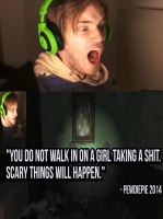 PewdiePie Advice 2014 by Feuerdemeinherz
