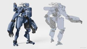 Police Droid by Shad3R
