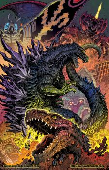 Godzilla Rulers of Earth Japanese Edition NEW vol1 by KaijuSamurai